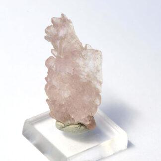 Quarzo rosa cristallizzato Brasile