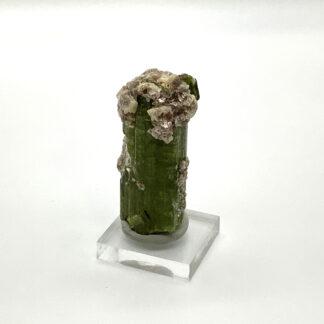 Tormalina con lepidolite verde Brasile